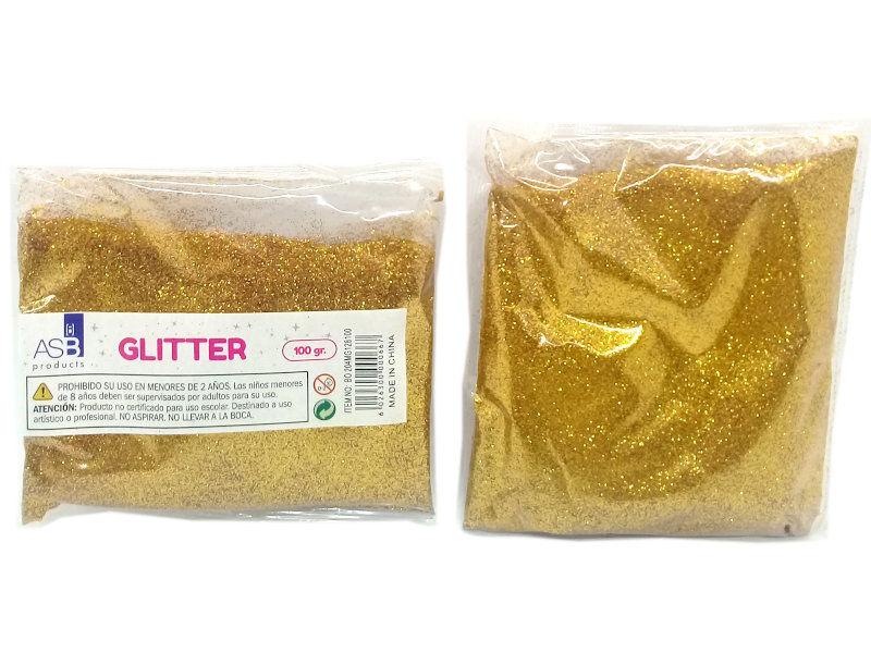 GLITTER MET.X100g.EXTRA FINO 8100/BO204 DORA.FUER.F128