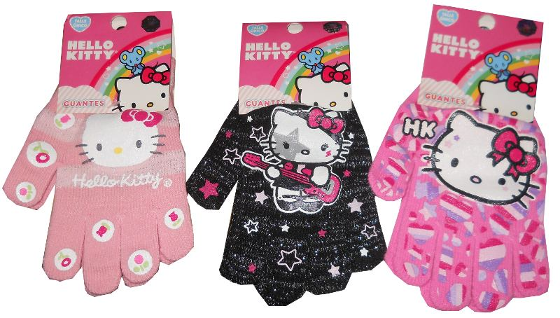 GUANTES KITTY 666