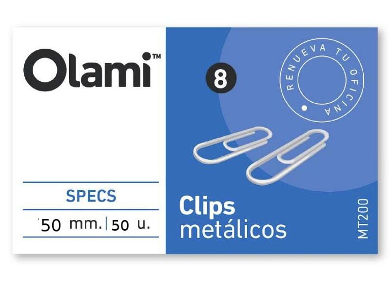 CLIPS METALICO X50 Nº6 (X10)