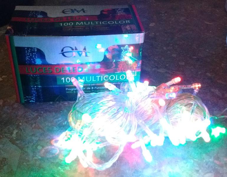 LUZ LED MULTICOLOR X100 - NVD