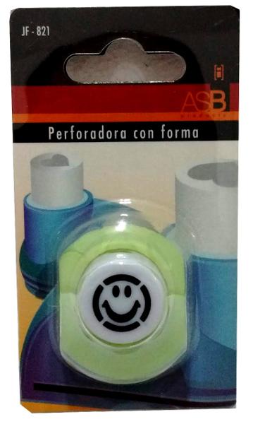 PERFORADORA MINI 10MM C/FORMA SMILE