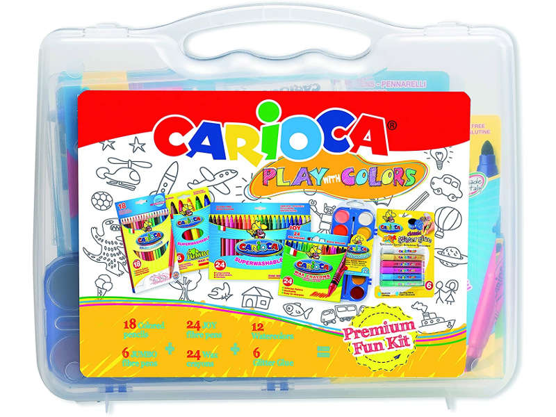 SET DE ARTE BACK TO SCHOOL CARIOCA