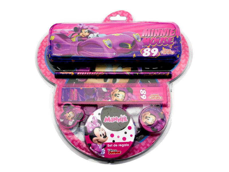 SET ESCOLAR C/CANOPLA MICKEY 313