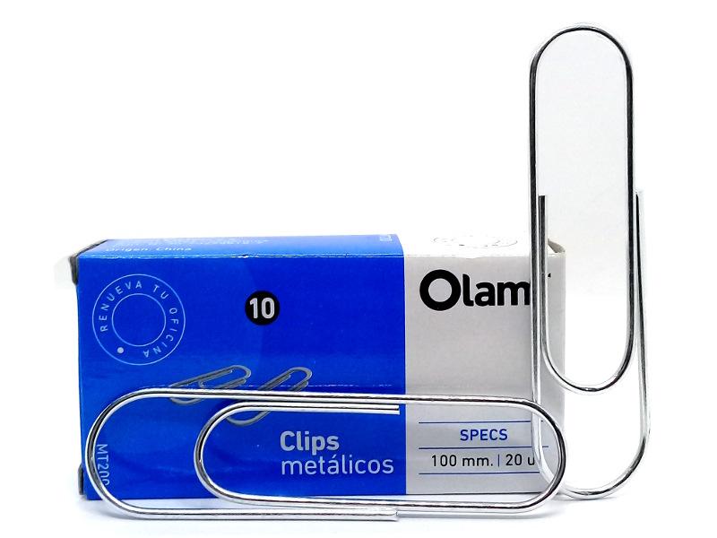 CLIP METALICO 100MM. Nº8 (X20)