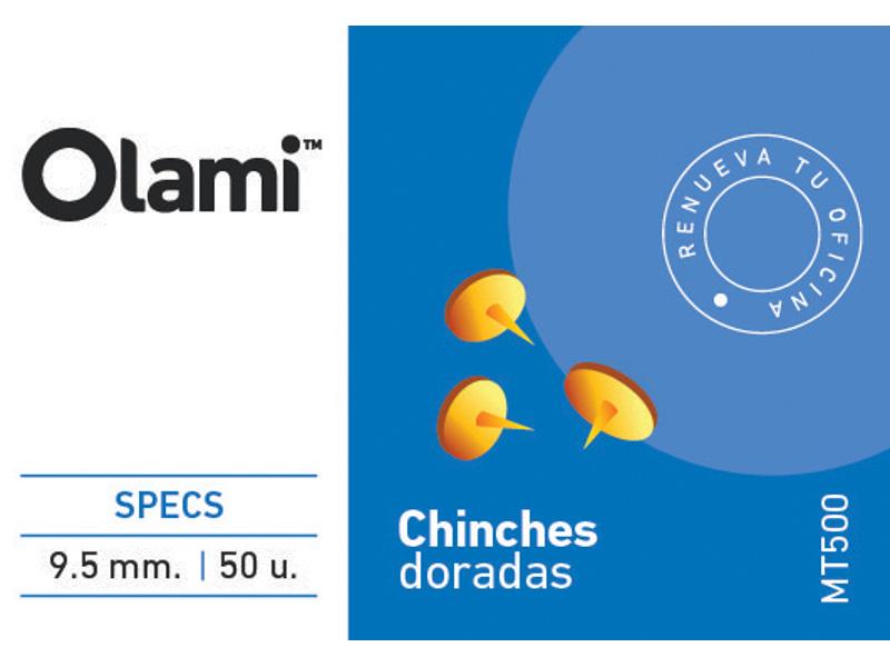 CHINCHE X50 DORADA (X10)