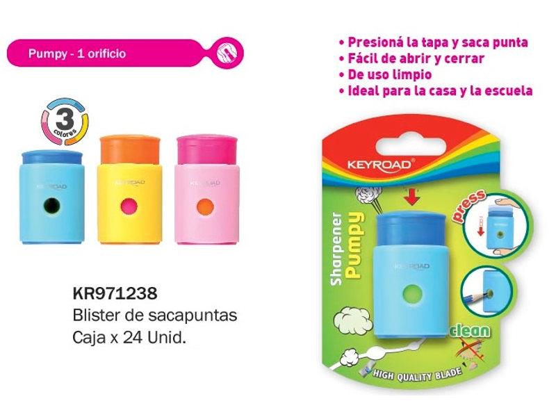 SACAPUNTAS PUMPY BLISTER (X24)