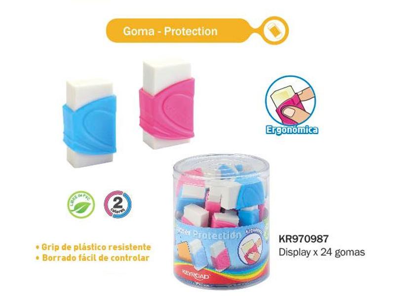 GOMA DE BORRAR C/GRIP PROTECTOR (X24)