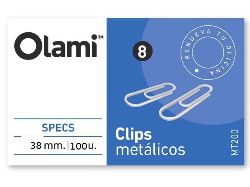 CLIPS METALICO X100 Nº5 (X10)