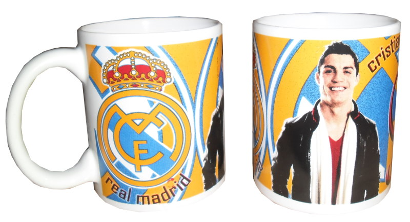 TAZA CERAMICA REAL MADRID