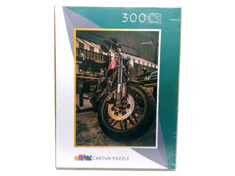 ROMPECABEZAS 300PZAS 33X48CM MOTO