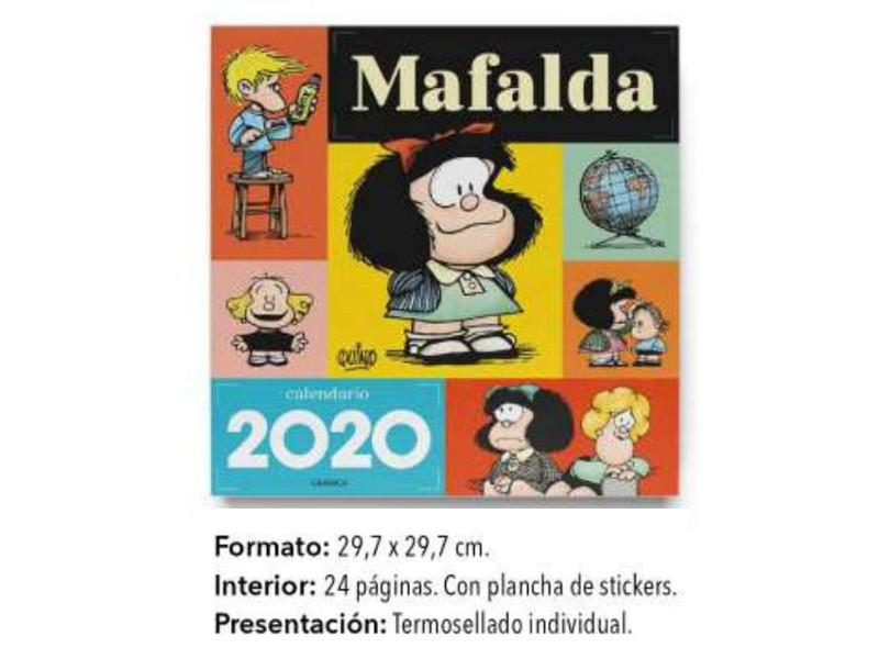 CALENDARIO PARED 2020 MAFALDA - AGD