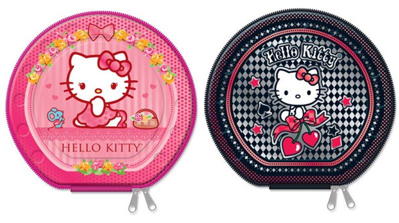 PORTA CD METALICO HELLO KITTY