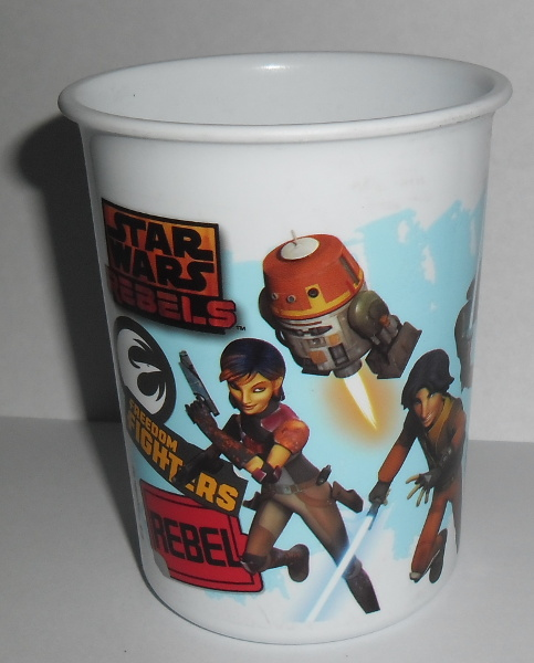 VASO PLASTICO CHICO STAR WARS