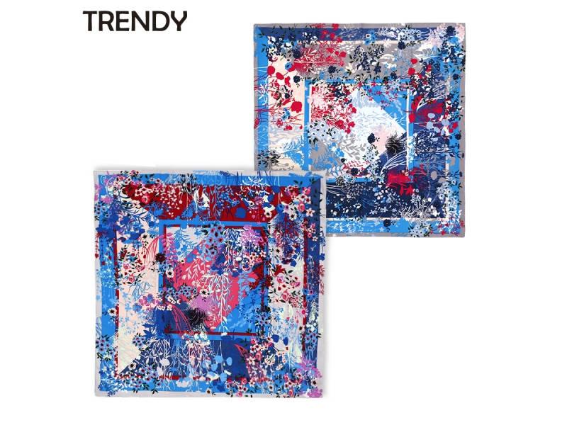 PAÑUELO SEDA TRENDY 90X90CM 9997