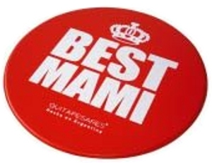 MOUSE PAD PLASTICO CIRCULAR BEST MAMI - OFDDM