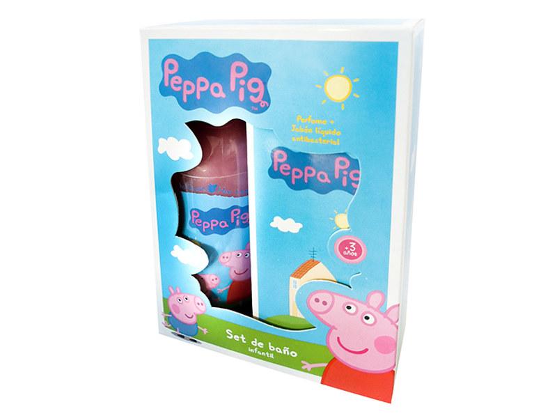 SET DE BAÑO JABON LIQUIDO + PERFUME PEPPA PIG - DDN