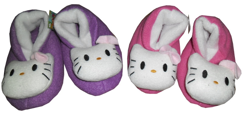 PANTUFLAS CHICAS HELLO KITTY