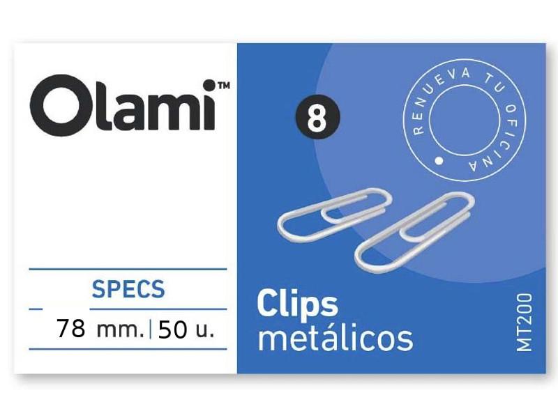 CLIPS METALICO X50 Nº7 (X10)