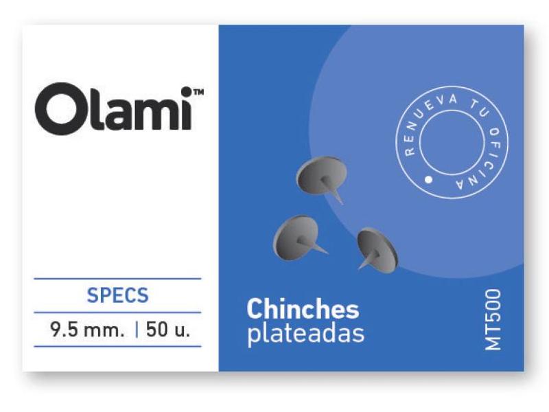 CHINCHE X50 PLATEADA (X10)