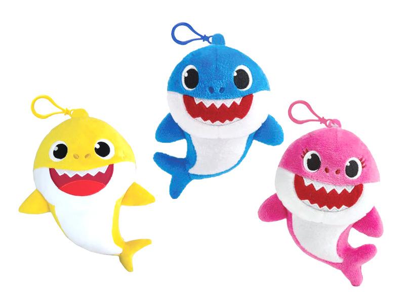 PELUCHE MUSICAL BABY SHARK 15CM - DDN