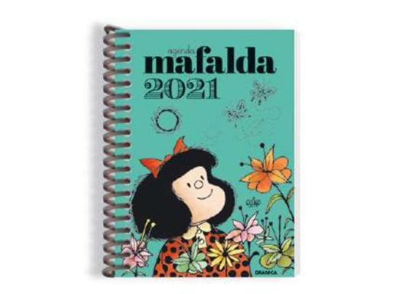 AGENDA ESPIRAL 2021 T/DURA DIARIA MAFALDA 10.5X14.5CM - AGD