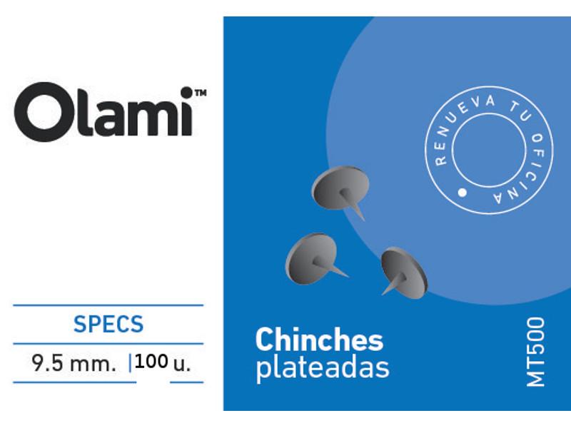 CHINCHE X100 PLATEADA (X10)
