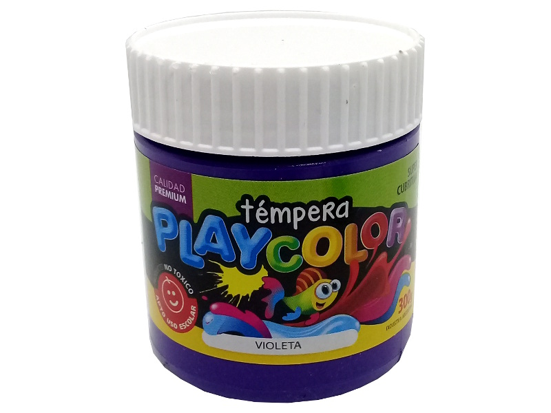 TEMPERA VIOLETA POTE 300GRS PLAYCOLOR