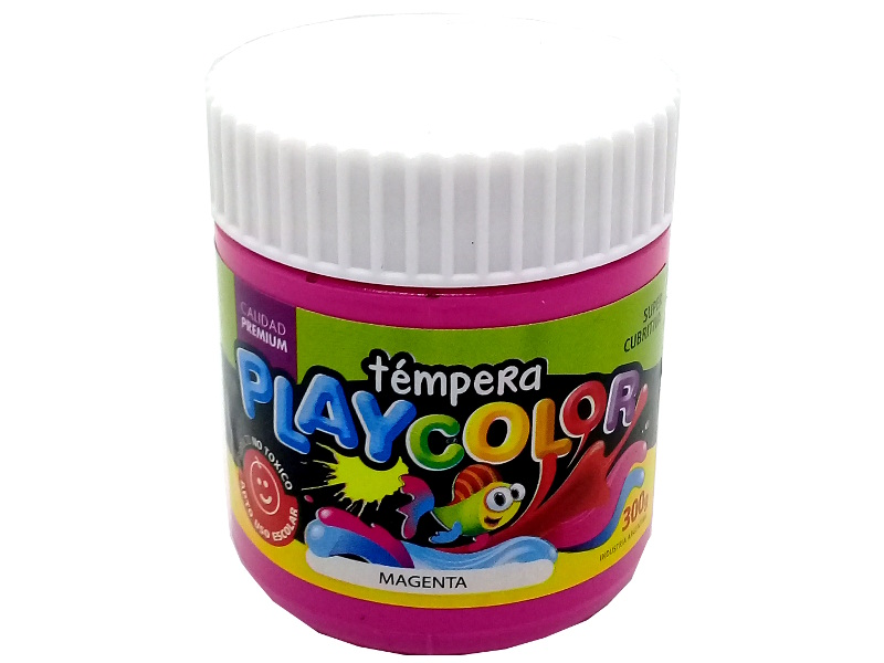 TEMPERA MAGENTA POTE 300GRS PLAYCOLOR