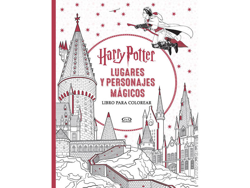 HARRY POTTER LUGARES Y PERSONAJES MAGICOS - PTR